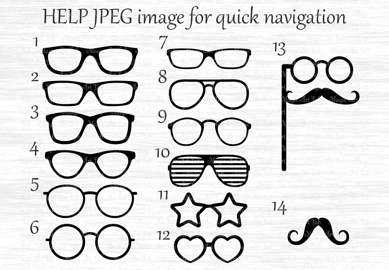 Glasses svg file photobooth. Eyeglasses clipart party