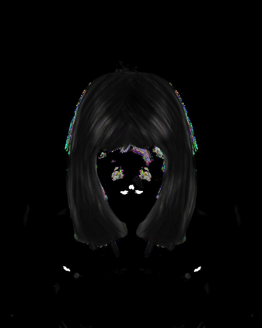 Hair shiny hair