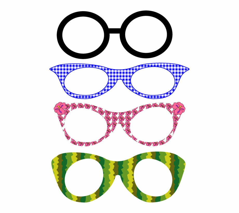 Eyeglasses clipart spects. Glass fun frames for