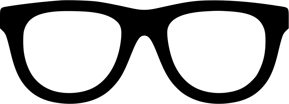 Square clipart eyeglasses. Svg png icon free