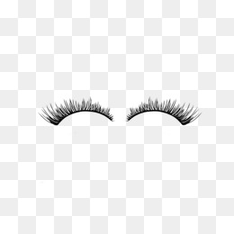 Eyelash clipart. Eyelashes png vectors psd