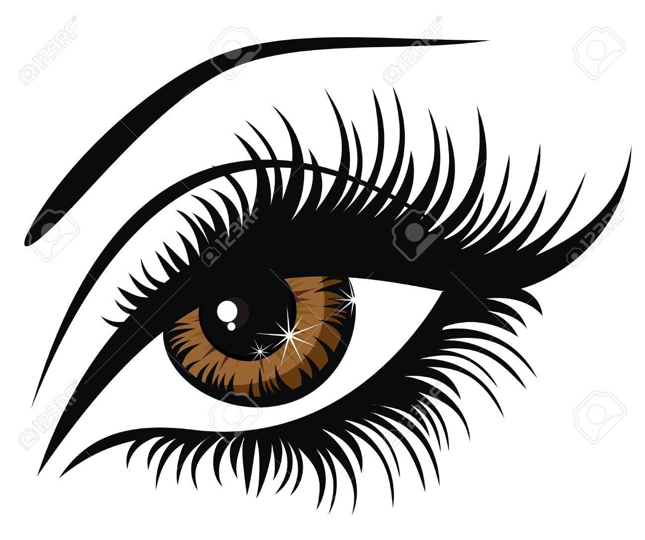 Clip art google search. Eyelash clipart
