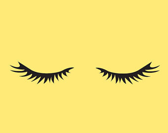 Lashes free download best. Eyelashes clipart baby