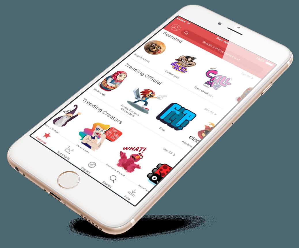 Emojis mojilala app screenshot. Eyelashes clipart cartoon character
