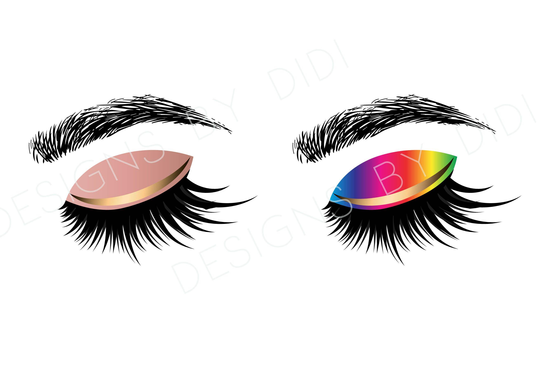 eyelash clipart clip art