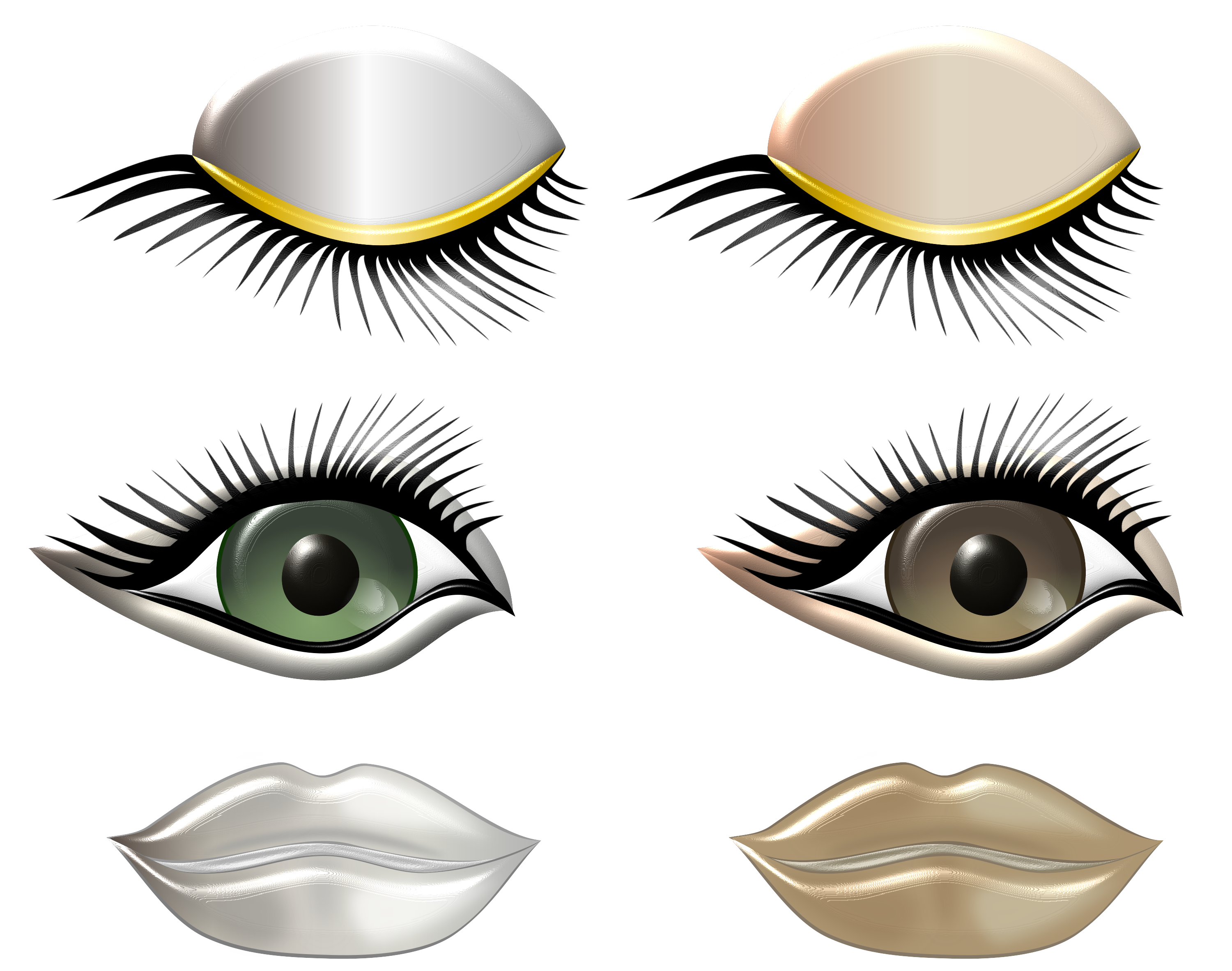 Specials favourites by kymscave. Eyelashes clipart digital art