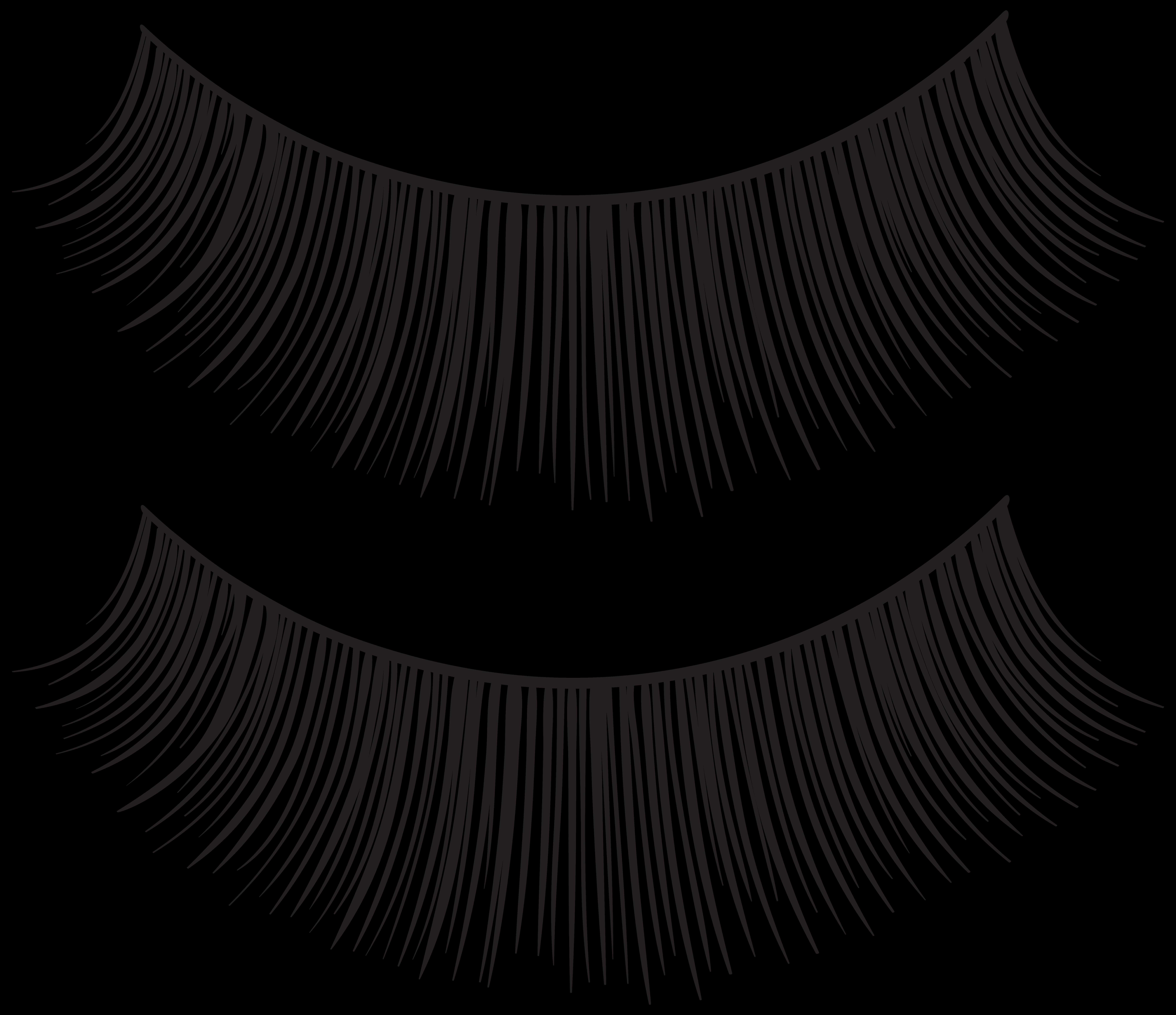 Eyelashes clipart natural.  collection of no