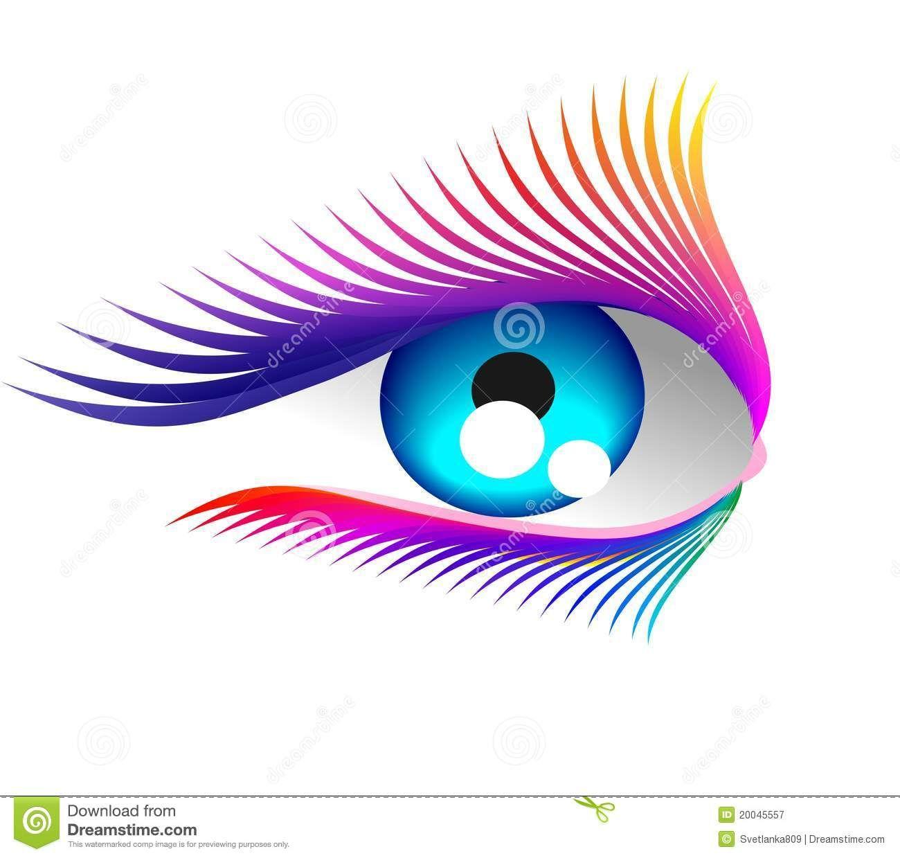 Eyelash clipart eye candy. Extension logo free clip