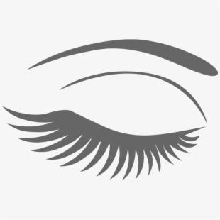 Eyelash girly clip art. Eyelashes clipart esthetician