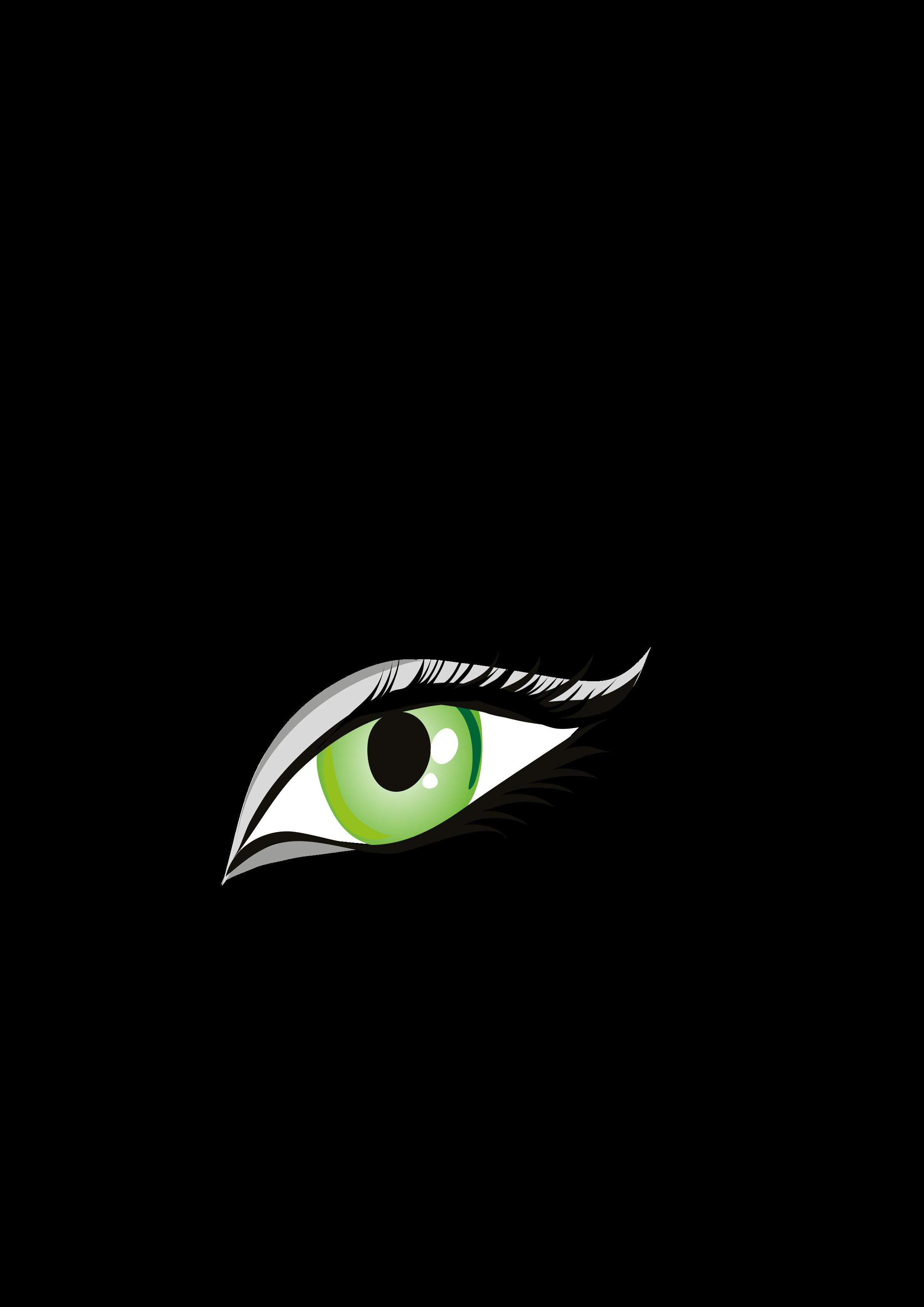Occhio big image png. Eyelashes clipart svg