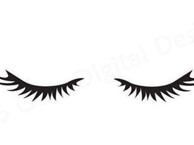 Eyelashes clipart outline. Free eyelash download clip