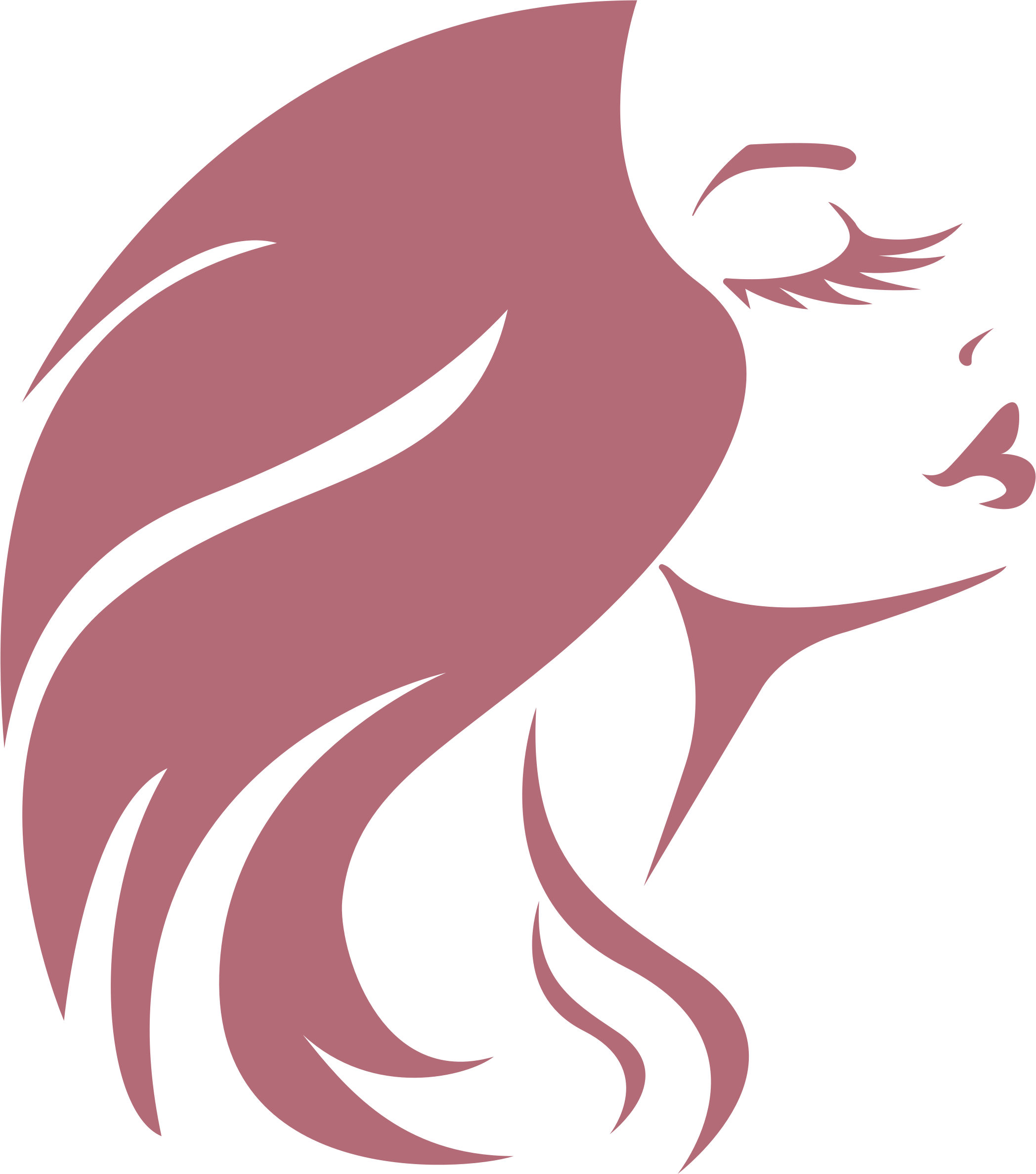 Woman with big image. Eyelashes clipart woman's