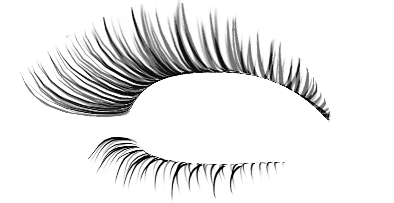 Extension clip art real. Eyelashes clipart staches or lash