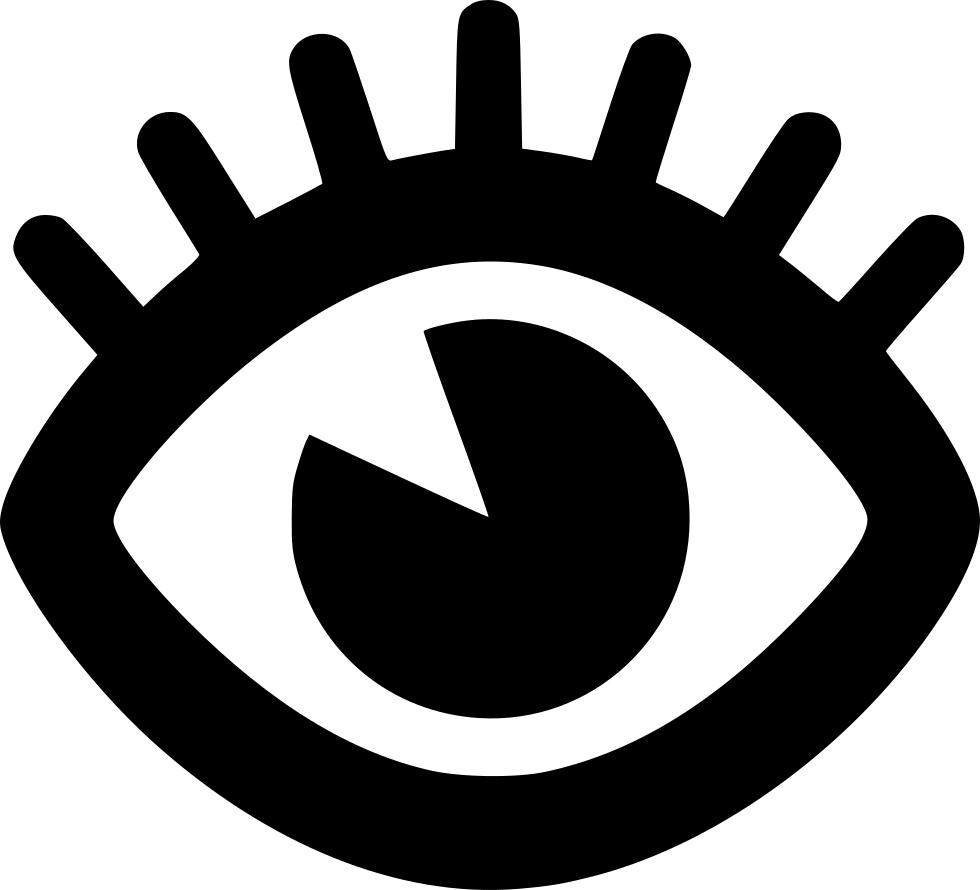Eyelash svg png icon. Eyelashes clipart file