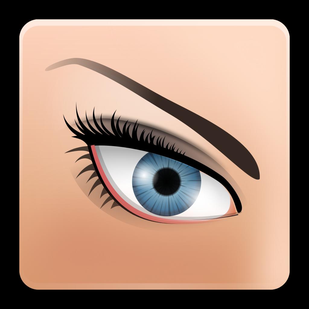 Eyelashes clipart svg. File eog faenza wikimedia