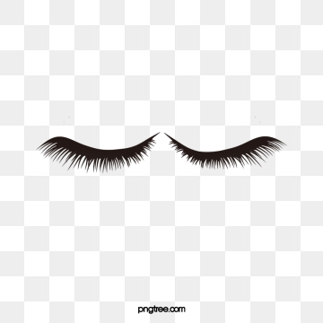Eyelashes clipart file. Png vector psd and