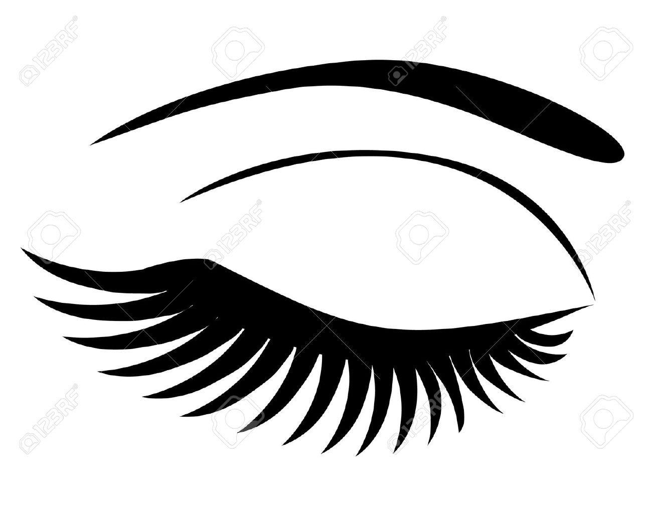 Afro clipart eye. Eyes with eyelashes clipartfest