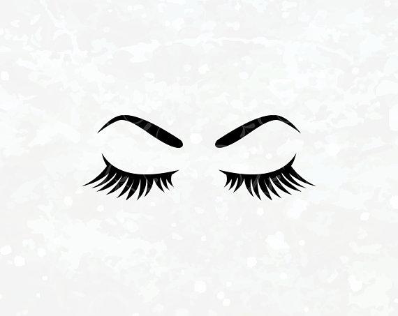 Eyebrow clipart outline. Makeup svg eyelashes eyes