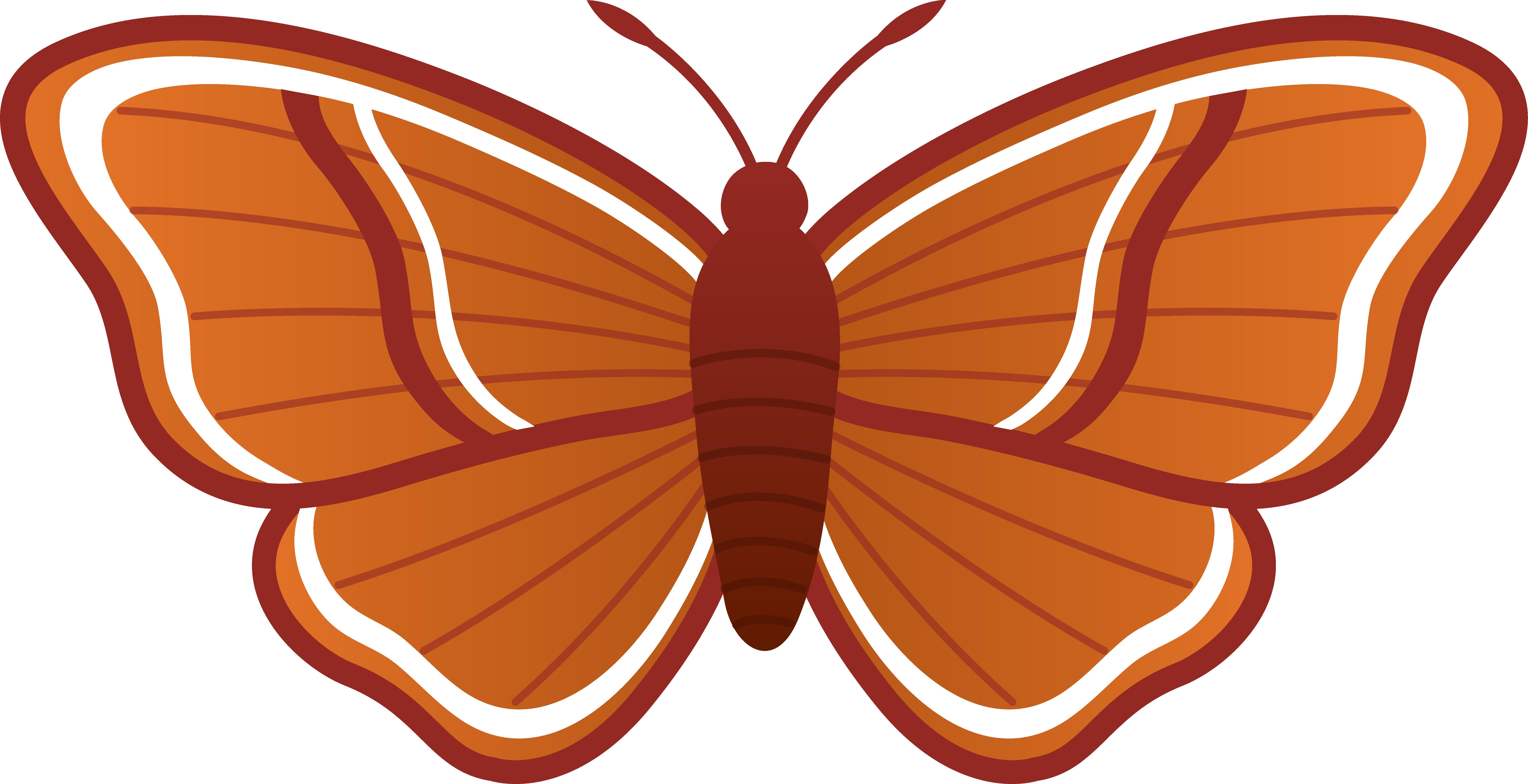 Moth clipart cartoon. Clip art