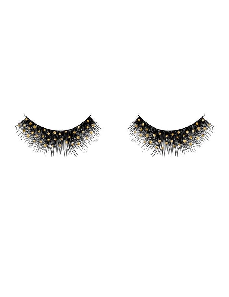 Digital art polka dot. Eyelashes clipart fancy