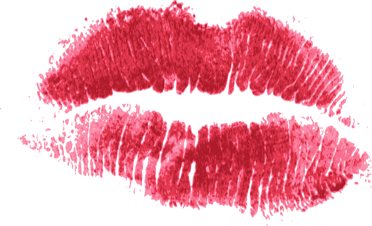 Mouth blood png.  red print of