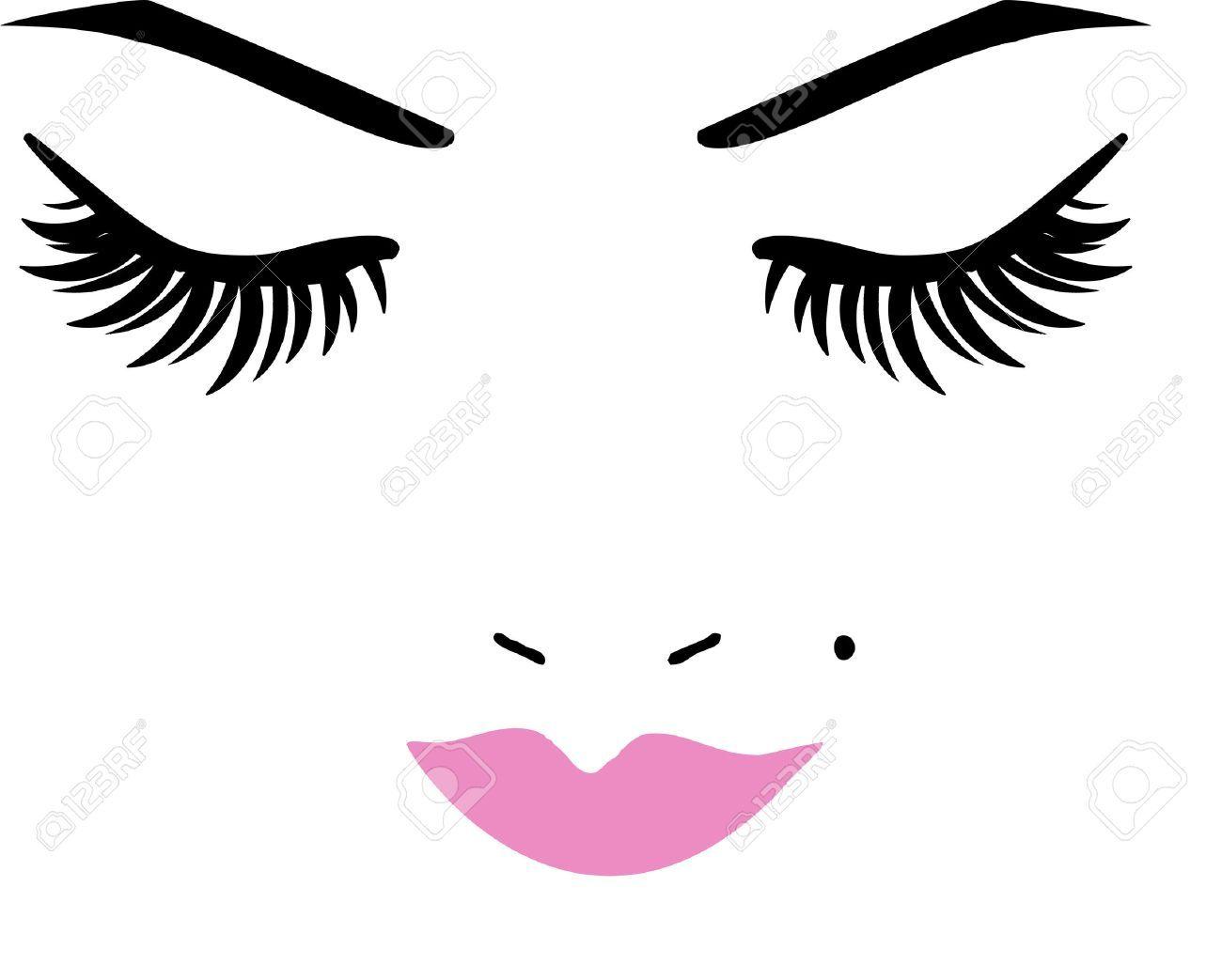 lashes cliparts stock. Eyelashes clipart makeup artist