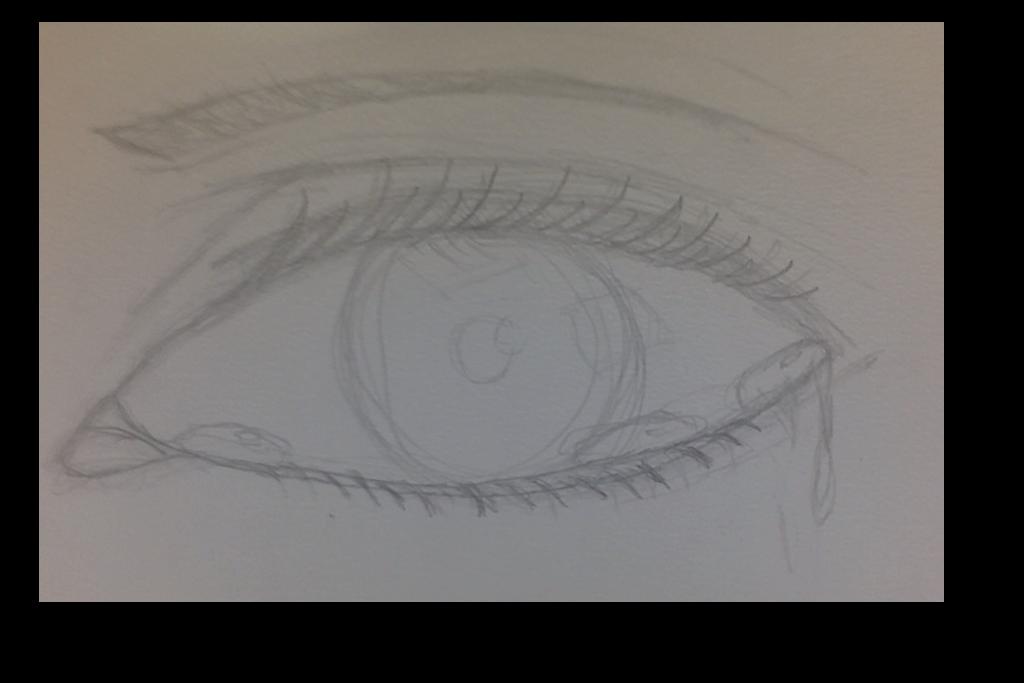 Eyelashes clipart watercolor. Saveloveforever kylee deviantart eye