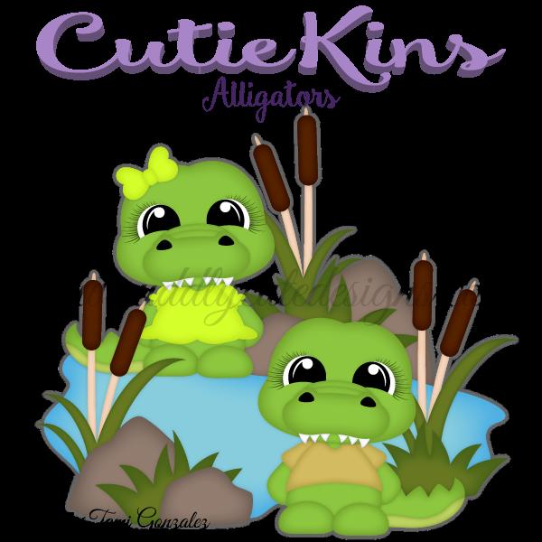 Cutiekins alligators paper ca. Eyes clipart alligator