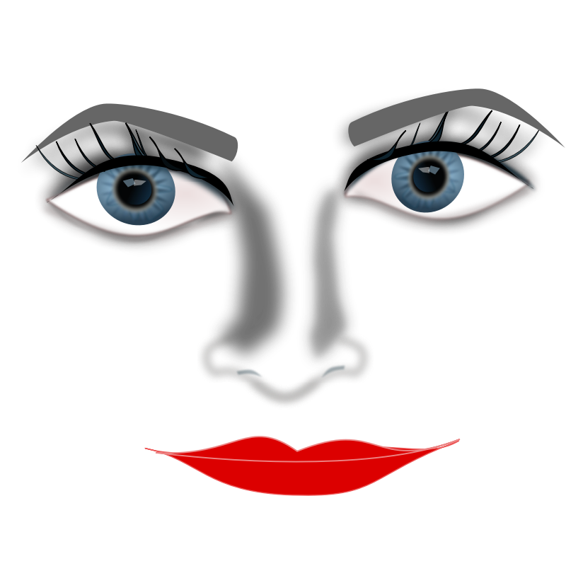 Eyes clipart lip. Free big lips images