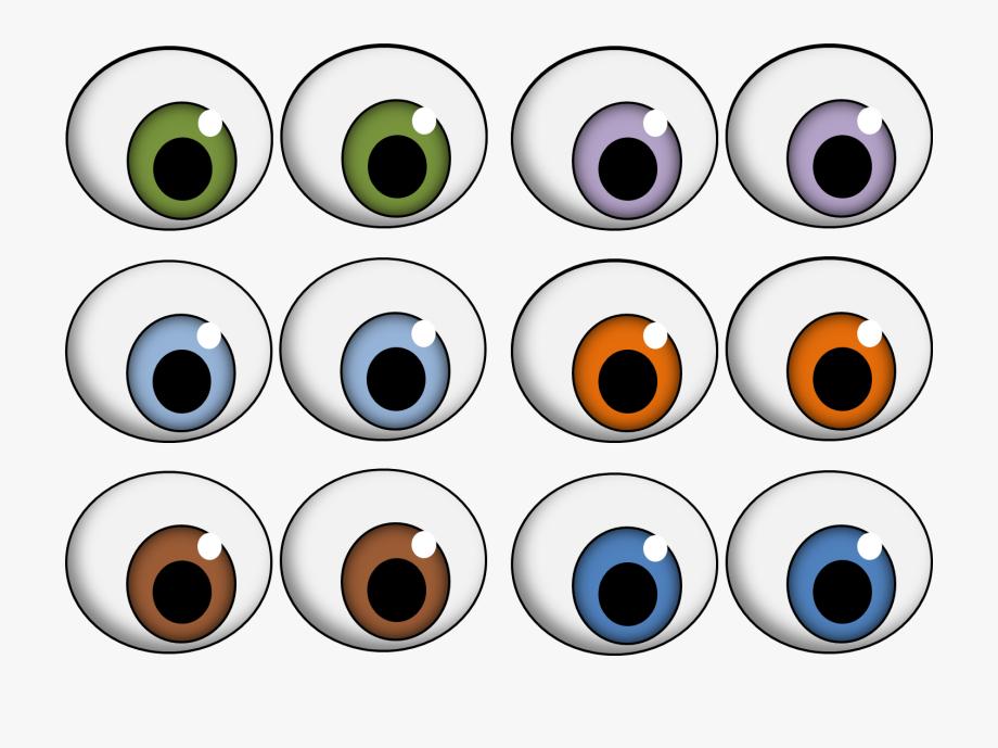 Eye ball png free. Eyes clipart printable