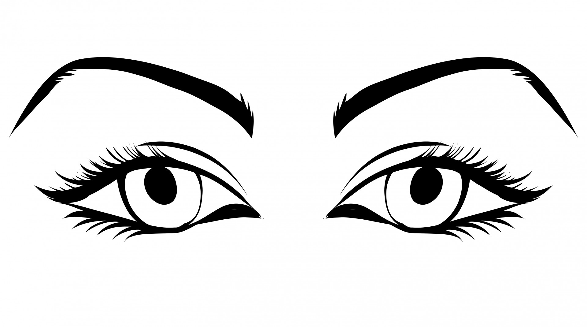 Of woman free stock. Eyes clipart