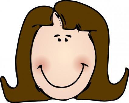 Face clipart. Teacher