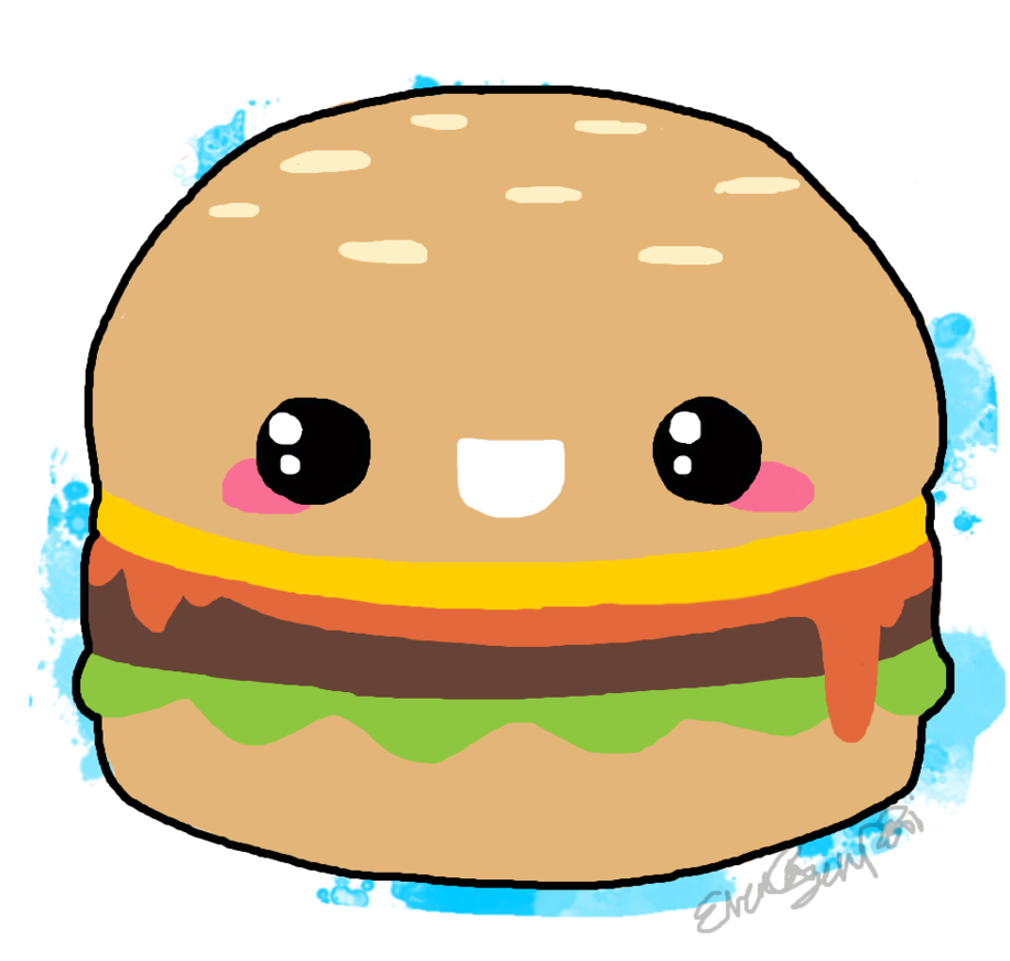 Cheeseburger drawing at getdrawings. Hamburger clipart printable