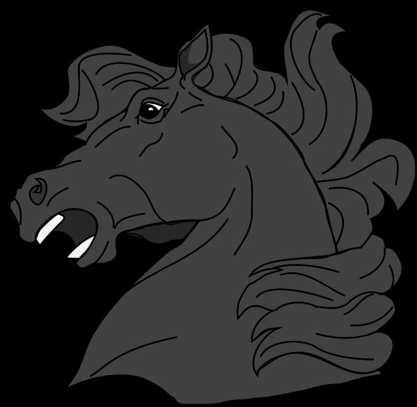 Clipartblack com animal free. Face clipart horse