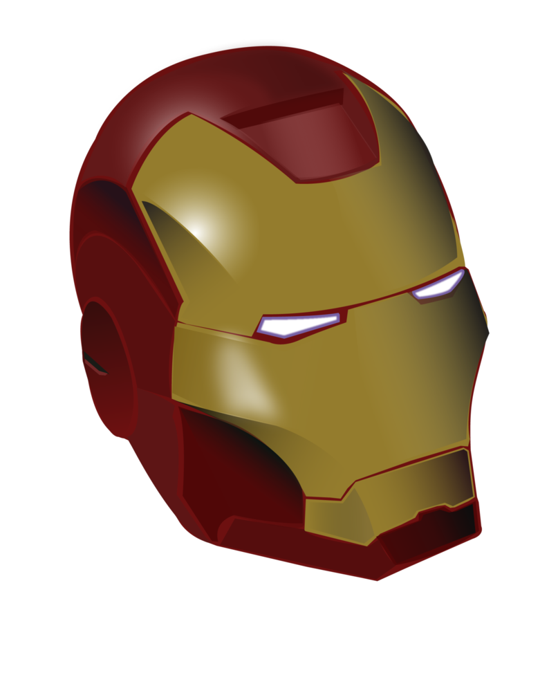 Iron man drawing at. Head clipart captain america