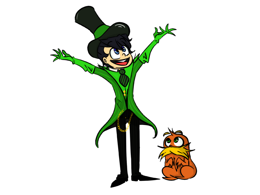 Once ler and kids. Face clipart lorax