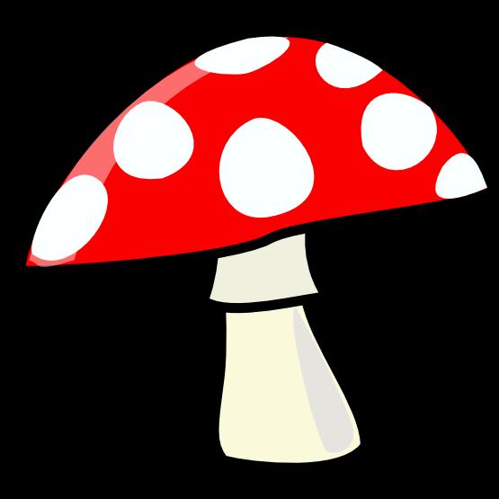 Panda free images mushroomclipart. Ladybug clipart mushroom