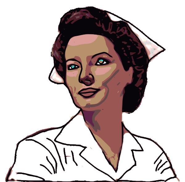 Clip art at clker. Nurse clipart staff nurse