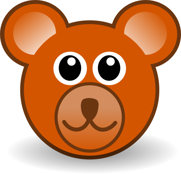 Teddy drawing at getdrawings. Bear clipart face