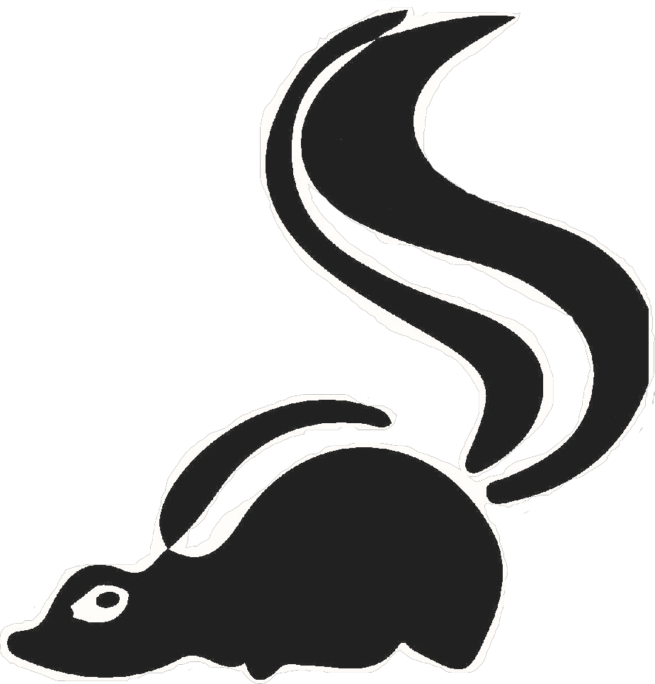 Racoon clipart skunk. Problem sos wildlife control