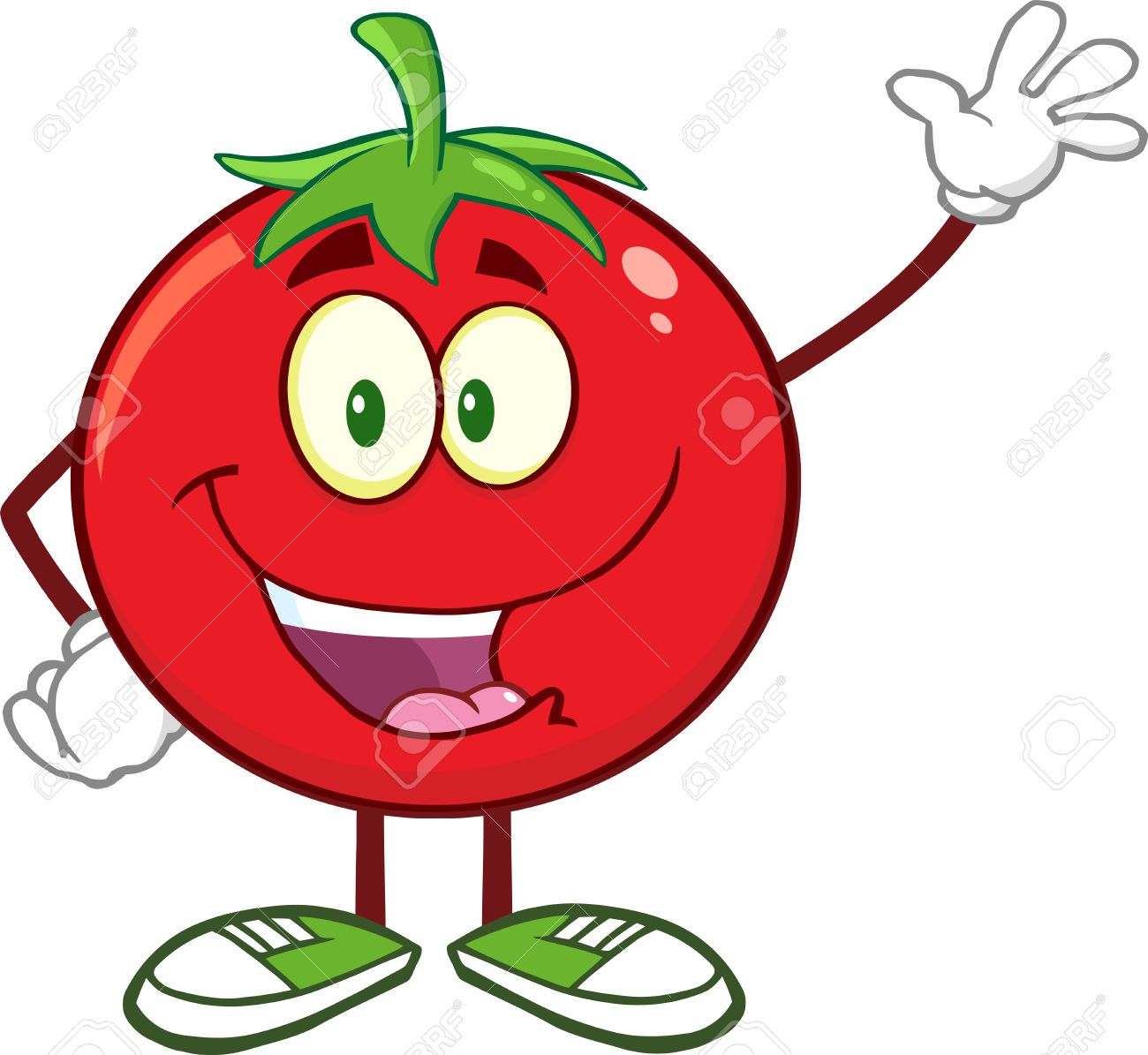 Cartoon tomatoe images google. Tomatoes clipart happy tomato