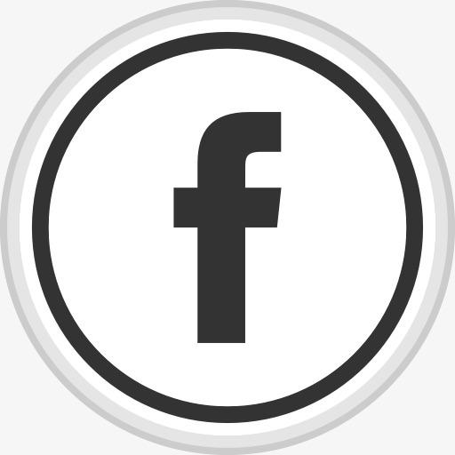 Online social media symbol. Facebook clipart