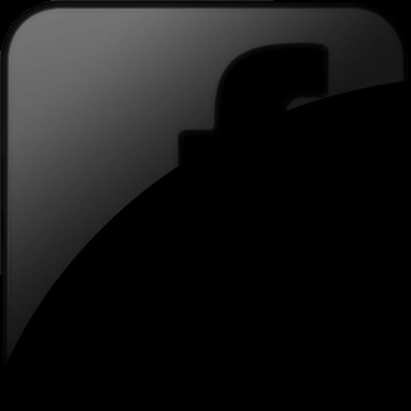 Black logo hd transparentpng. Facebook clipart