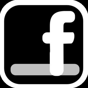 Simple icon clip art. Facebook clipart