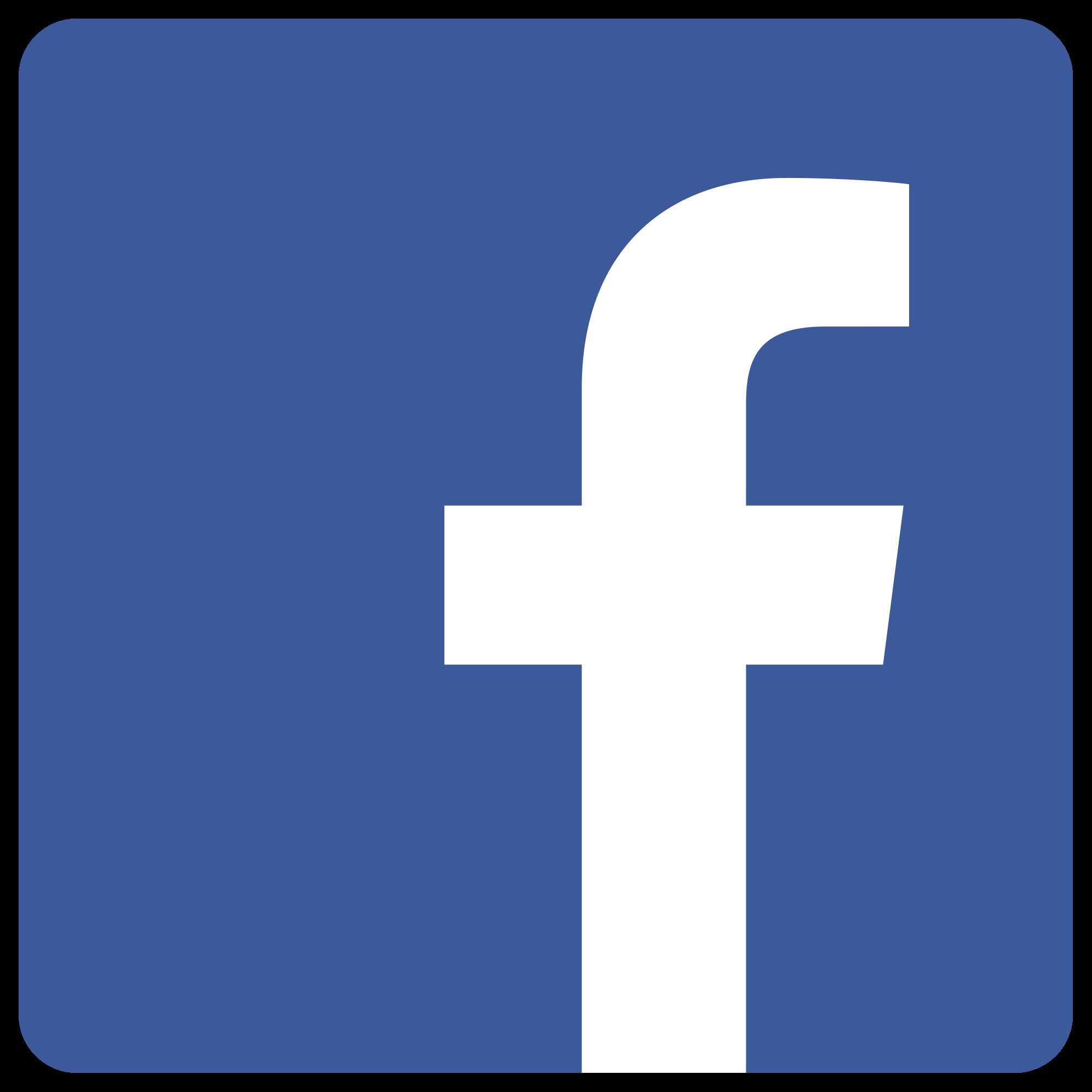 Facebook clipart. Symbol png logo
