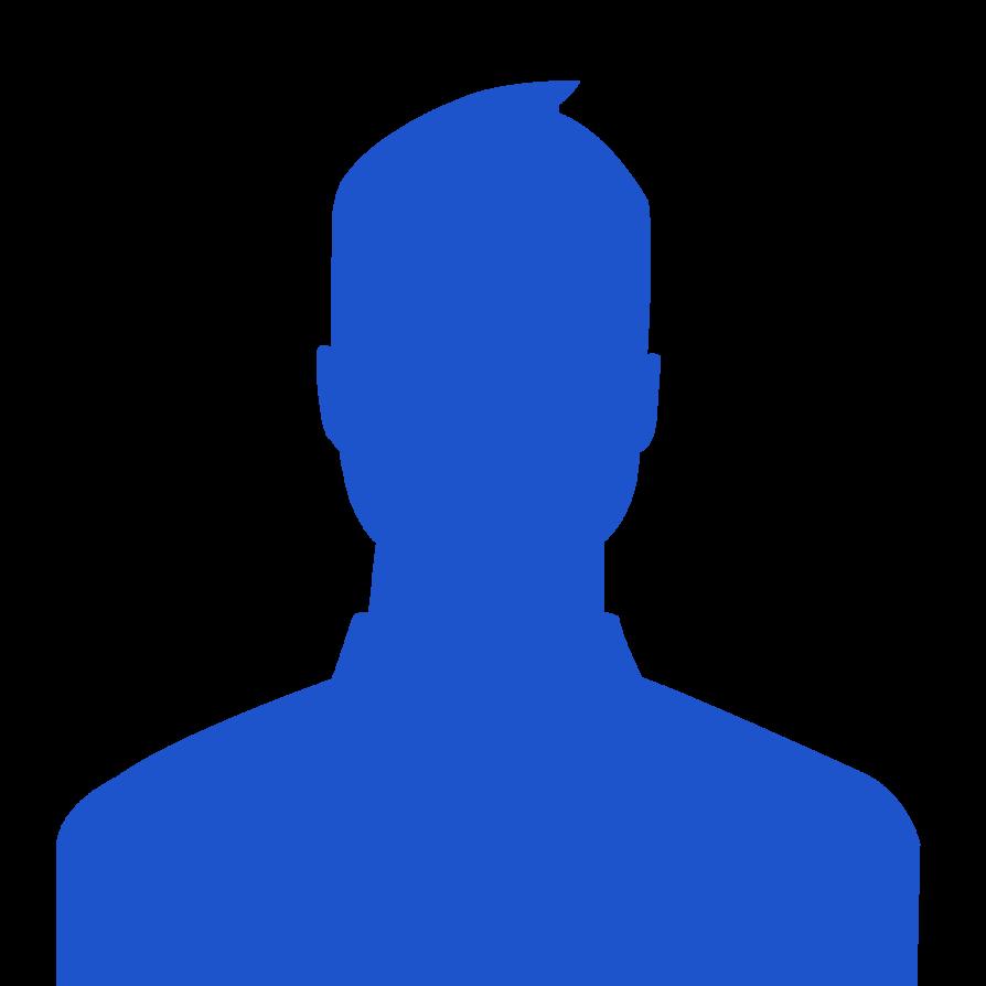Facebook clipart contemporary. Profile picture silhouette female