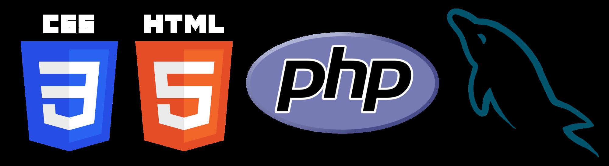 Html php mysql logo. Facebook clipart css