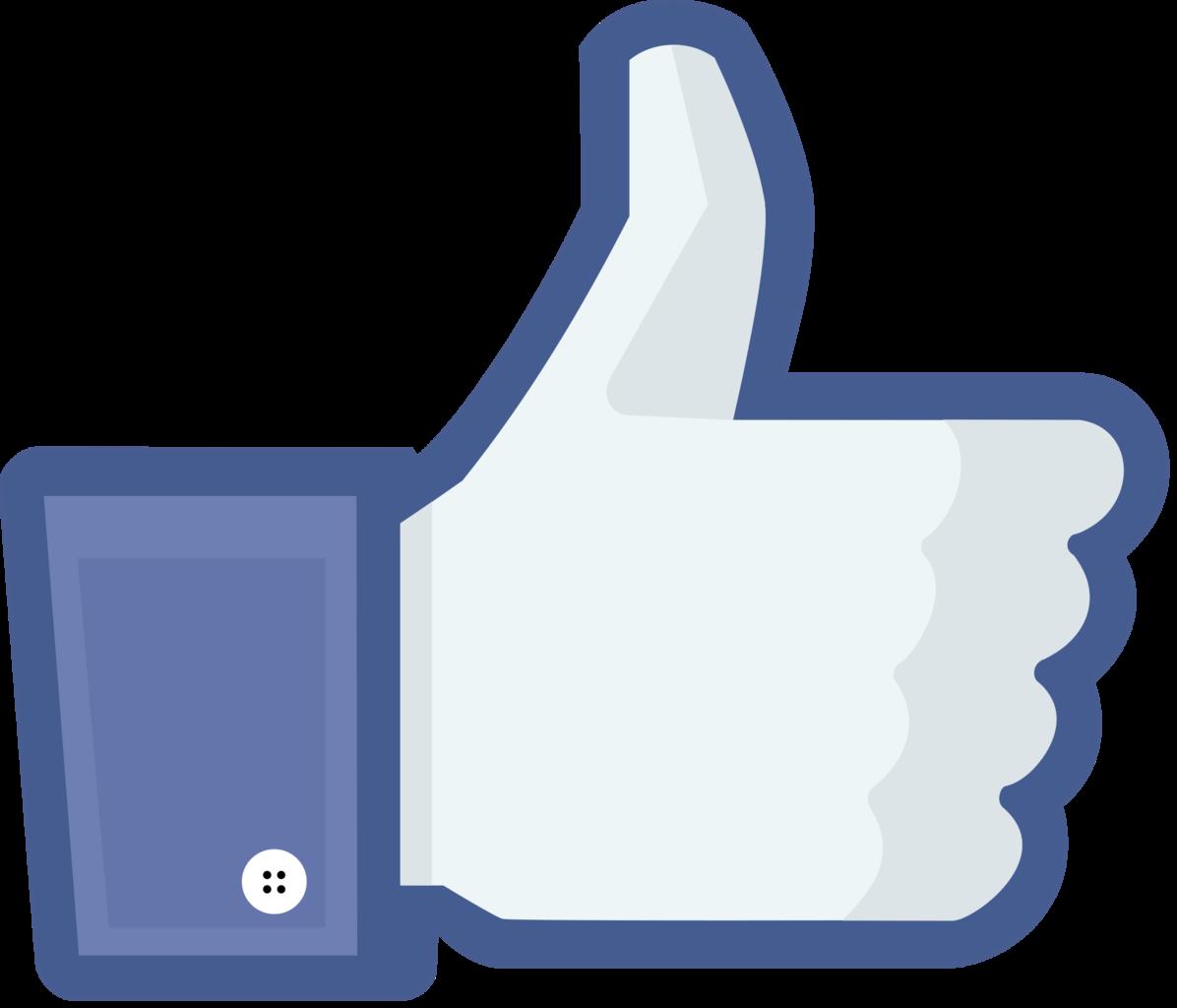 Facebook clipart emblem. Like us on png