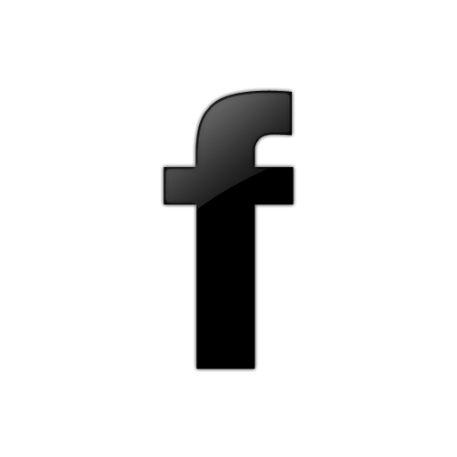 Icon png black free. Facebook clipart glyph