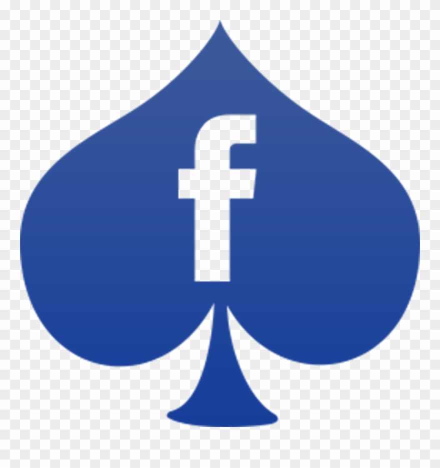 Facebook clipart glyph. Social media darkslateblue icon